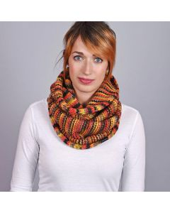 Snood Odense Marron - Made in Europe